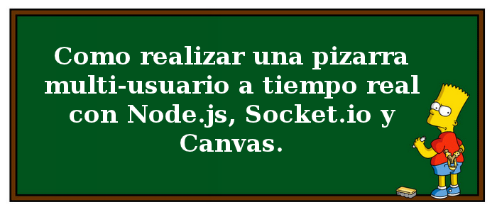Dibujando a tiempo real con Canvas, Node.js y Socket.io