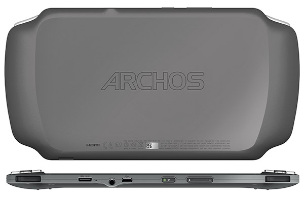 Archos Gamepad Back